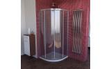 LUCIS LINE štvrťkruhová sprchová zástena, 1000x1000mm, R550, číre sklo