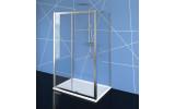 EASY LINE viacstenné sprchovací kút 1100x1000mm, L / P variant, číre sklo