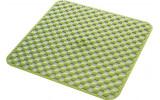 GEO podložka do sprchovacieho kúta 53x53cm s protišmykovou úpravou, kaučuk, zelená