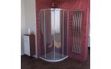 LUCIS LINE štvrťkruhová sprchová zástena, 900x900mm, R550, číre sklo