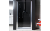 ONE sprchové dvere do niky 900 mm, číre sklo