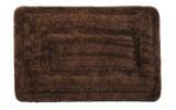 JUWEL predložka 60x90cm s protišmykovou úpravou, polyester, hnedá