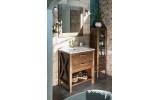 Kúpeľňový set WESTERN 77, morený smrek