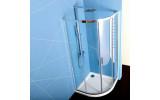 EASY LINE štvrťkruhová sprchová zástena 900x900mm, číre sklo